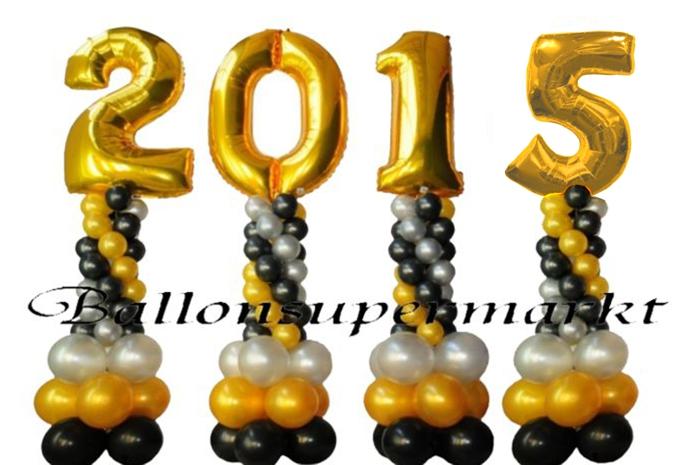 Ballonsupermarkt-Onlineshop Partydeko zu Silvester