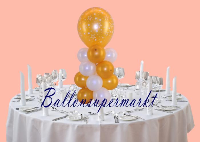 ballondekoration silvester silvesterdekoration aus ballons und luftballons. Black Bedroom Furniture Sets. Home Design Ideas